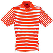 Greg Norman Men's ML75 Stretch Stripe Golf Polo