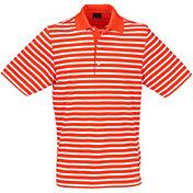 Greg Norman Men's ML75 Stretch Stripe Golf Polo