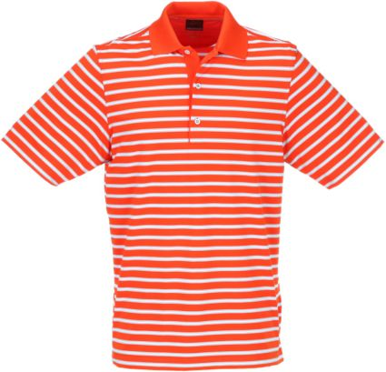 Greg Norman ML75 Stretch Stripe Polo