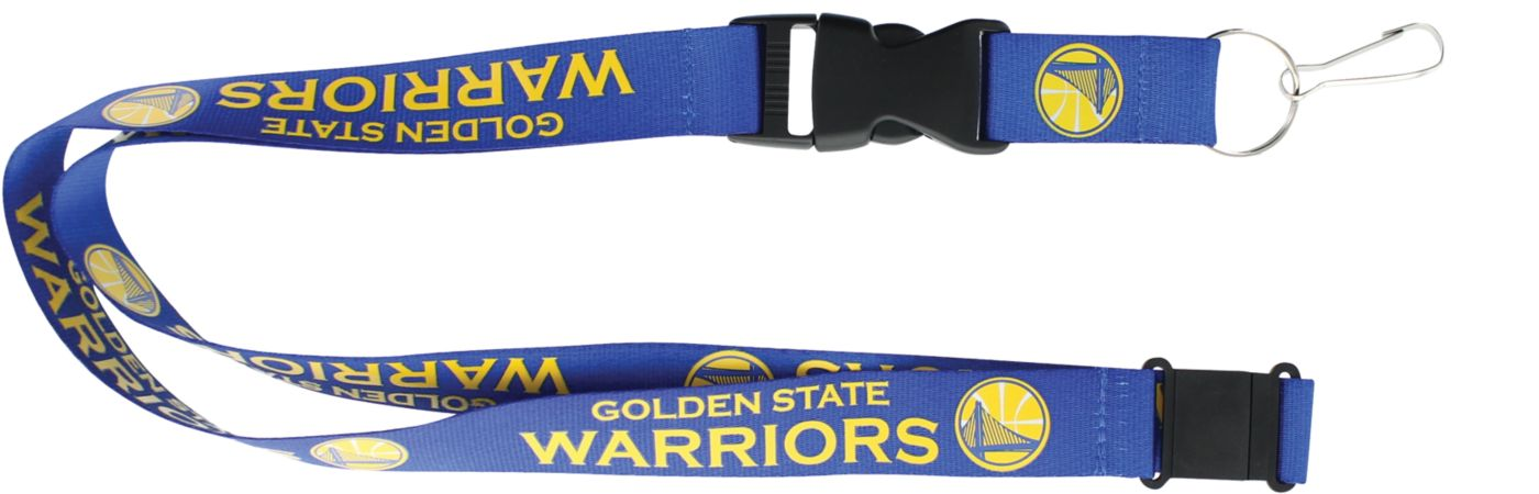 Golden State Warriors Royal Lanyard
