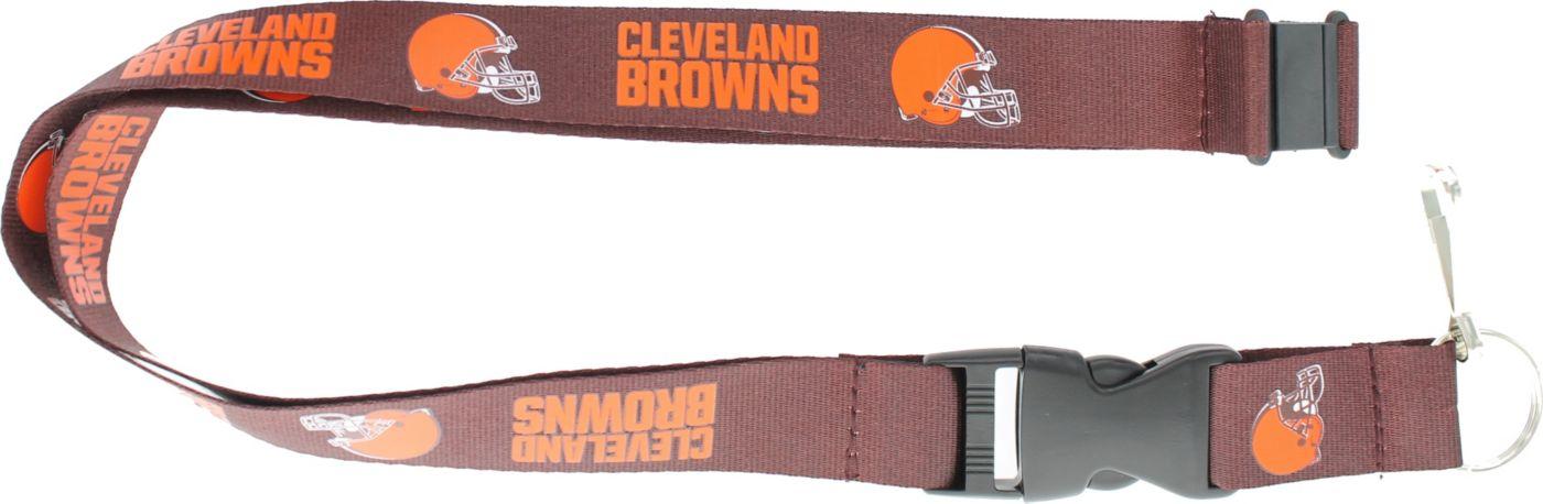Cleveland Browns Brown Lanyard
