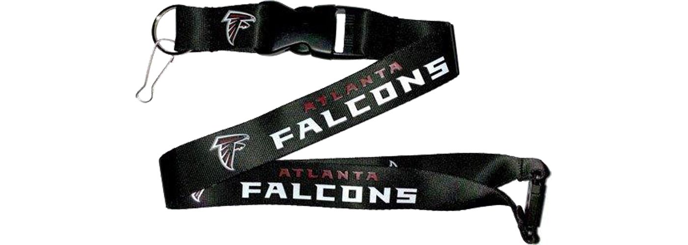 Atlanta Falcons Black Lanyard