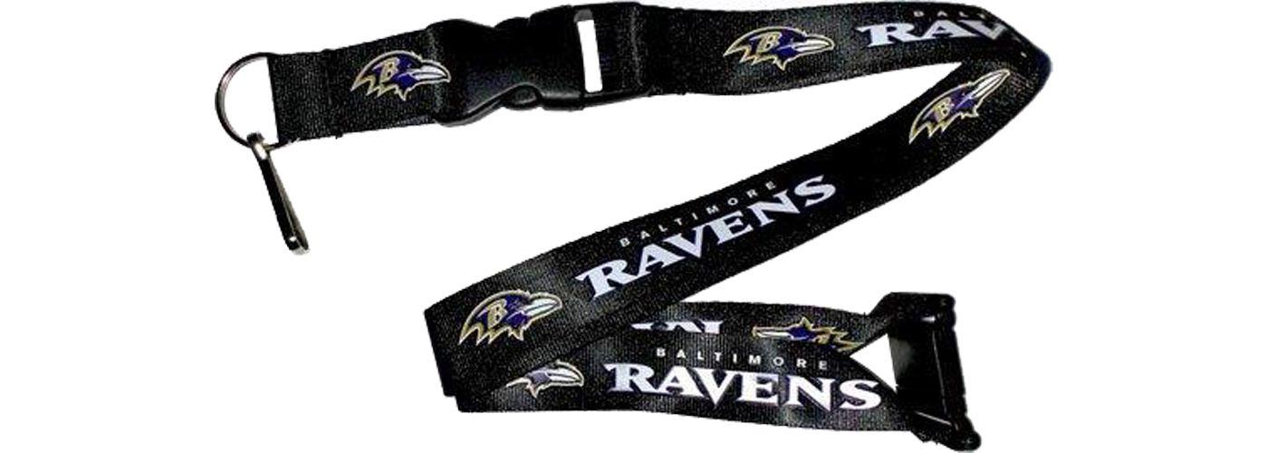 Baltimore Ravens Black Lanyard