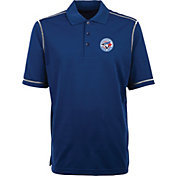 Antigua Men's Toronto Blue Jays Icon Royal Performance Polo