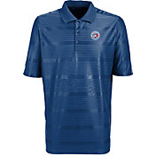 Antigua Men's Toronto Blue Jays Illusion Royal Striped Performance Polo