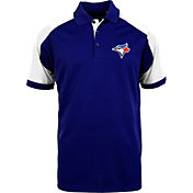 Antigua Men's Toronto Blue Jays Century Royal/White Polo