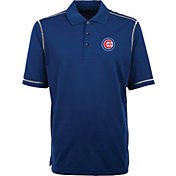 Antigua Men's Chicago Cubs Icon Royal Performance Polo