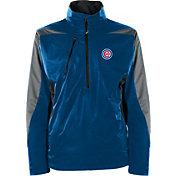 Antigua Men's Chicago Cubs Pullover Royal Discover Jacket