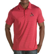 Antigua Men's St. Louis Cardinals Red Quest Performance Polo