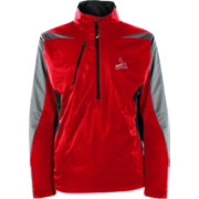 Antigua Men's St. Louis Cardinals Pullover Red Discover Jacket