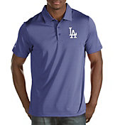 Antigua Men's Los Angeles Dodgers Quest Royal Performance Polo