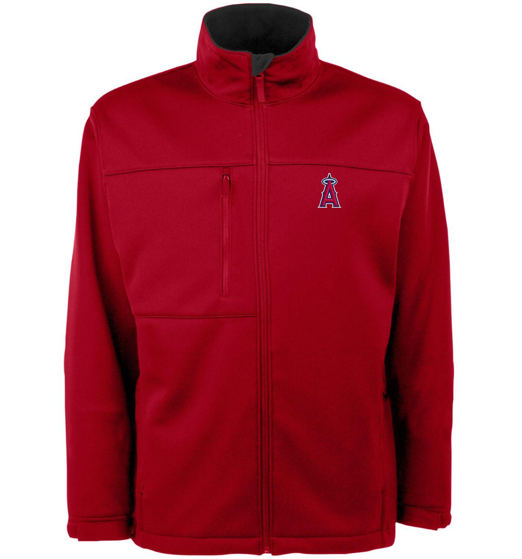 Antigua Men's Los Angeles Angels Red Traverse Jacket