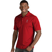 Antigua Men's Los Angeles Angels Red Inspire Performance Polo