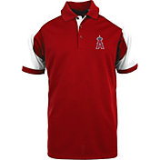 Antigua Men's Los Angeles Angels Century Red/White Polo