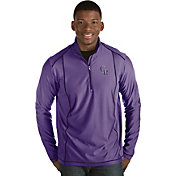 Antigua Men's Colorado Rockies Purple Tempo Quarter-Zip Pullover