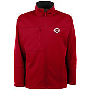 Antigua Men's Cincinnati Reds Red Traverse Jacket