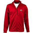 Antigua Men's Cincinnati Reds Full-Zip Red Golf Jacket