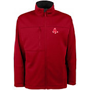 Antigua Men's Boston Red Sox Red Traverse Jacket
