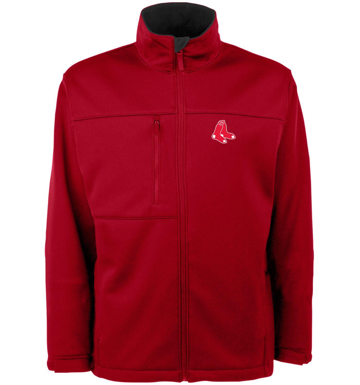 Antigua Men's Boston Red Sox Red Traverse Jacket
