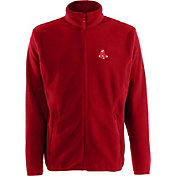 Antigua Men's Boston Red Sox Full-Zip Red Ice Jacket