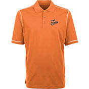 Antigua Men's Baltimore Orioles Icon Orange Performance Polo