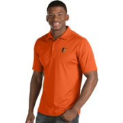 Antigua Men's Baltimore Orioles Orange Inspire Performance Polo