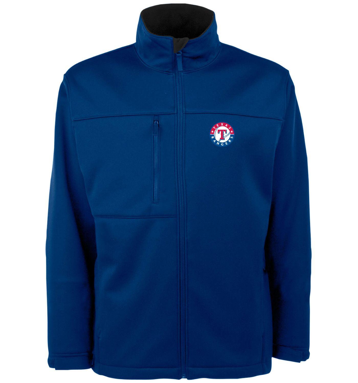Antigua Men's Texas Rangers Royal Traverse Jacket