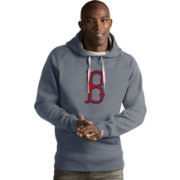 Antigua Men's Boston Red Sox Grey Victory Pullover