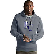 Antigua Men's Kansas City Royals Grey Victory Pullover