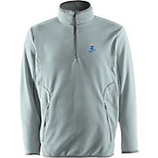Antigua Men's Kansas City Royals Quarter-Zip Silver Ice Pullover