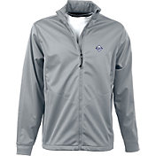 Antigua Men's Tampa Bay Rays Full-Zip Silver Golf Jacket