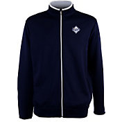 Antigua Men's Tampa Bay Rays Leader Navy Full-Zip Jacket