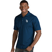 Antigua Men's Tampa Bay Rays Navy Inspire Performance Polo