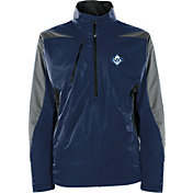 Antigua Men's Tampa Bay Rays Pullover Navy Discover Jacket