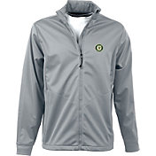 Antigua Men's Oakland Athletics Full-Zip Silver Golf Jacket