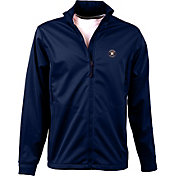 Antigua Men's Houston Astros Full-Zip Navy Golf Jacket