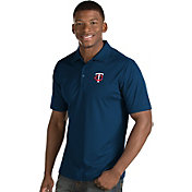 Antigua Men's Minnesota Twins Navy Inspire Performance Polo