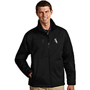 Antigua Men's Chicago White Sox Black Traverse Jacket