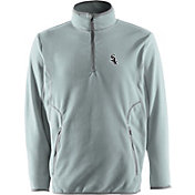 Antigua Men's Chicago White Sox Quarter-Zip Silver Ice Pullover