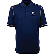 Antigua Men's New York Yankees Icon Navy Performance Polo
