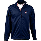 Antigua Men's New York Yankees Full-Zip Navy Golf Jacket