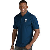 Antigua Men's New York Yankees Navy Inspire Performance Polo