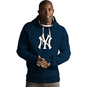 Antigua Men's New York Yankees Navy Victory Pullover