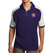 Antigua Men's Orlando City Purple Century Polo