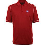 Antigua Men's FC Dallas Icon Red Polo