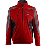 Antigua Men's FC Dallas Red Discover Full-Zip Jacket