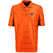 Antigua Men's Houston Dynamo Illusion Orange Performance Polo