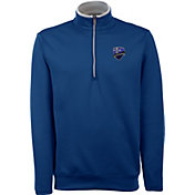 Antigua Men's Montreal Impact Leader Royal Quarter-Zip Jacket