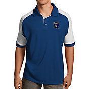 Antigua Men's San Jose Earthquakes Royal Century Polo