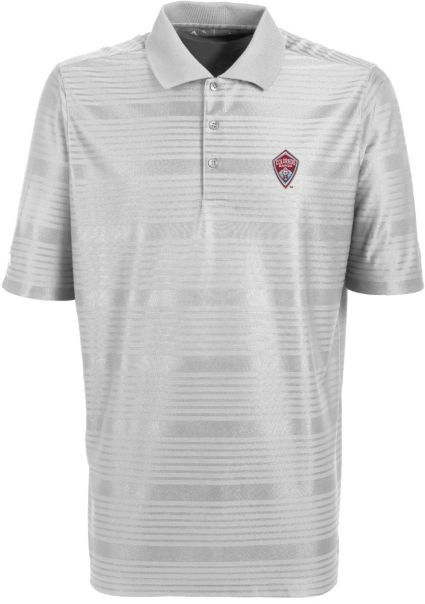 size 40 312c1 e79a4 Antigua Men s Colorado Rapids Illusion White Performance Polo. noImageFound